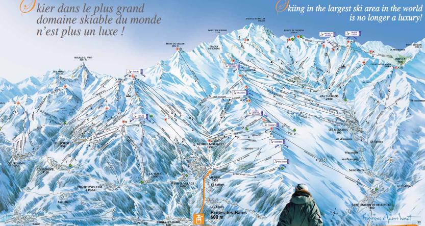 Que penser de la station de ski de brides les bains - Office du tourisme brides les bains location ...